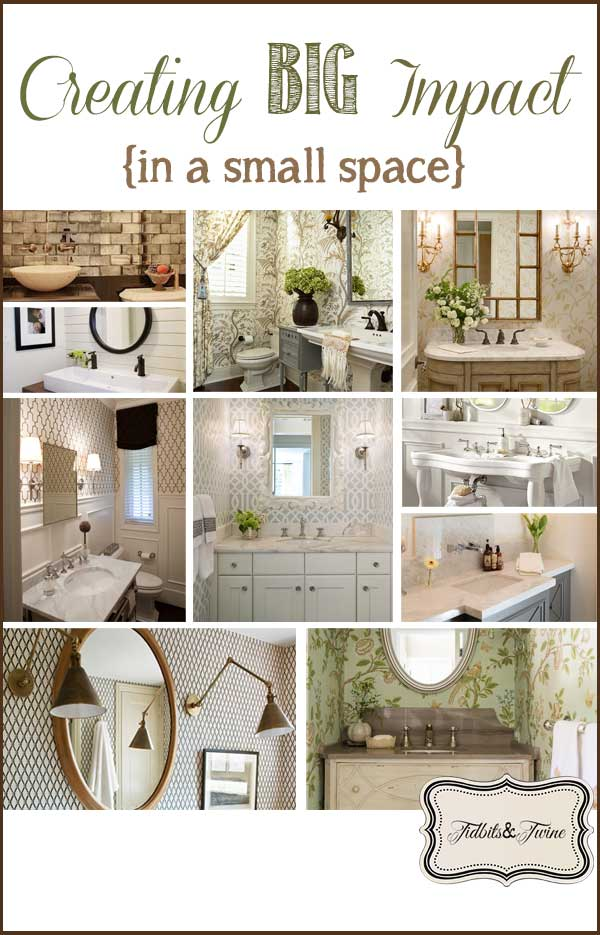 Small Baths with Big Impact
