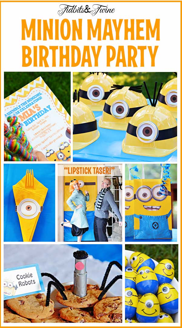 Minion Mayhem Birthday Party