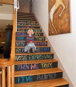 Chalkboard Paint Risers