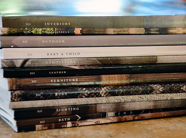 TIDBITS & TWINE 2014 Restoration Hardware Source Books