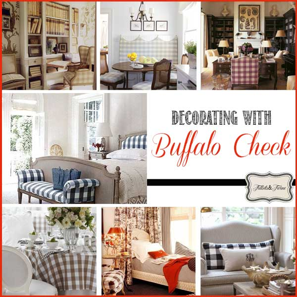 Textile Spotlight: Queen Charlotte's Check {aka Buffalo Check}