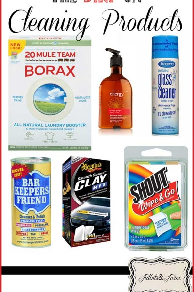 My 10 Favorite Cleaning Products