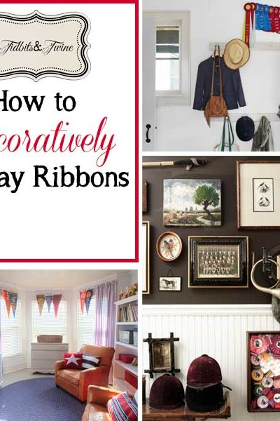 5 Ways to Decoratively Display Ribbons