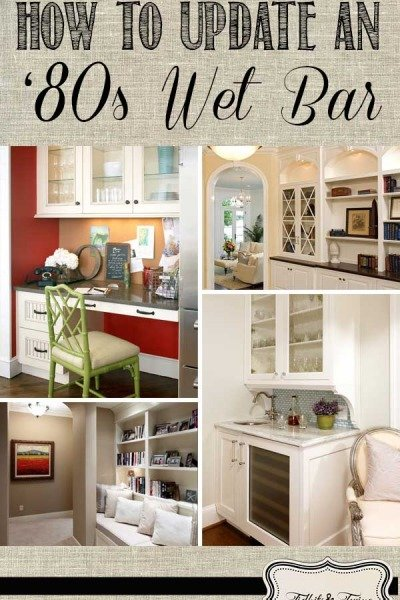 Ideas for Updating an '80s Wet Bar
