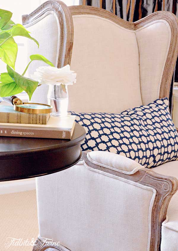 TIDBITS TWINE Lorraine Chair 2 5 Tips for a Space that is Perfectly YOU
