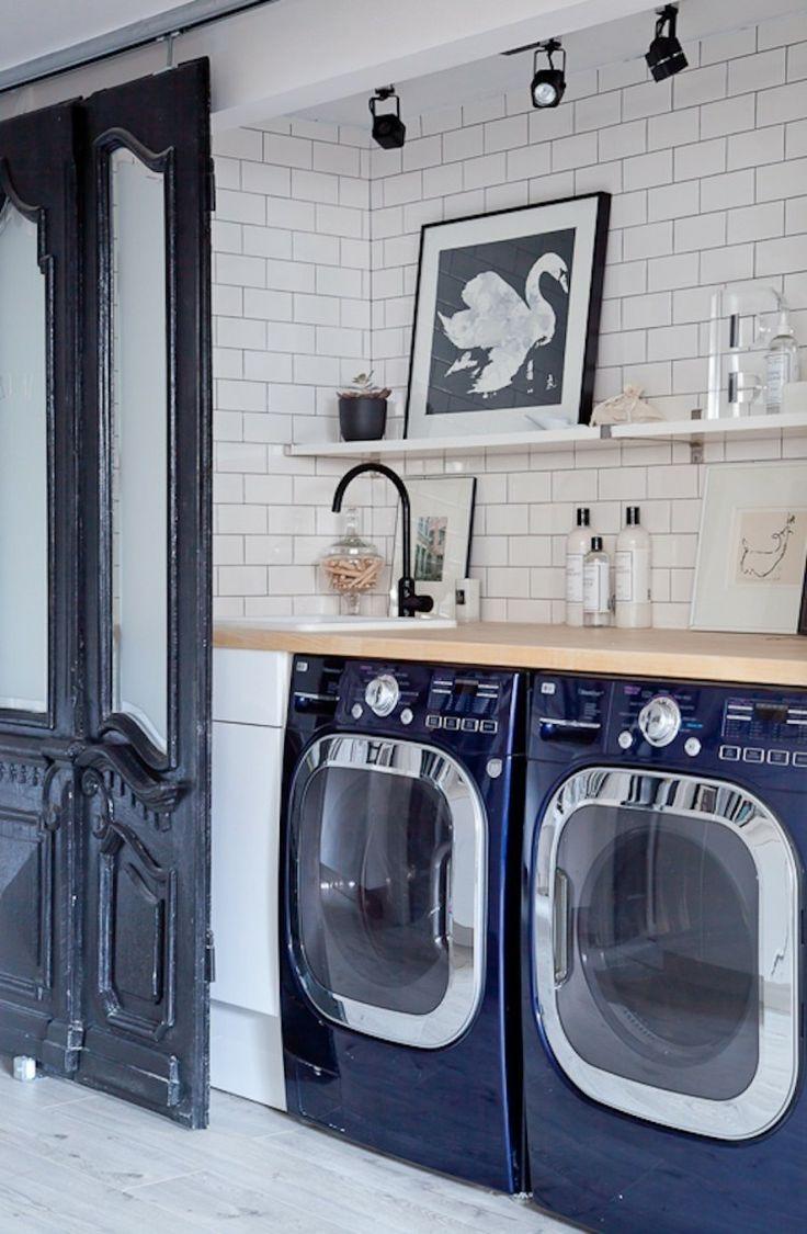 Laundry Nook Doors