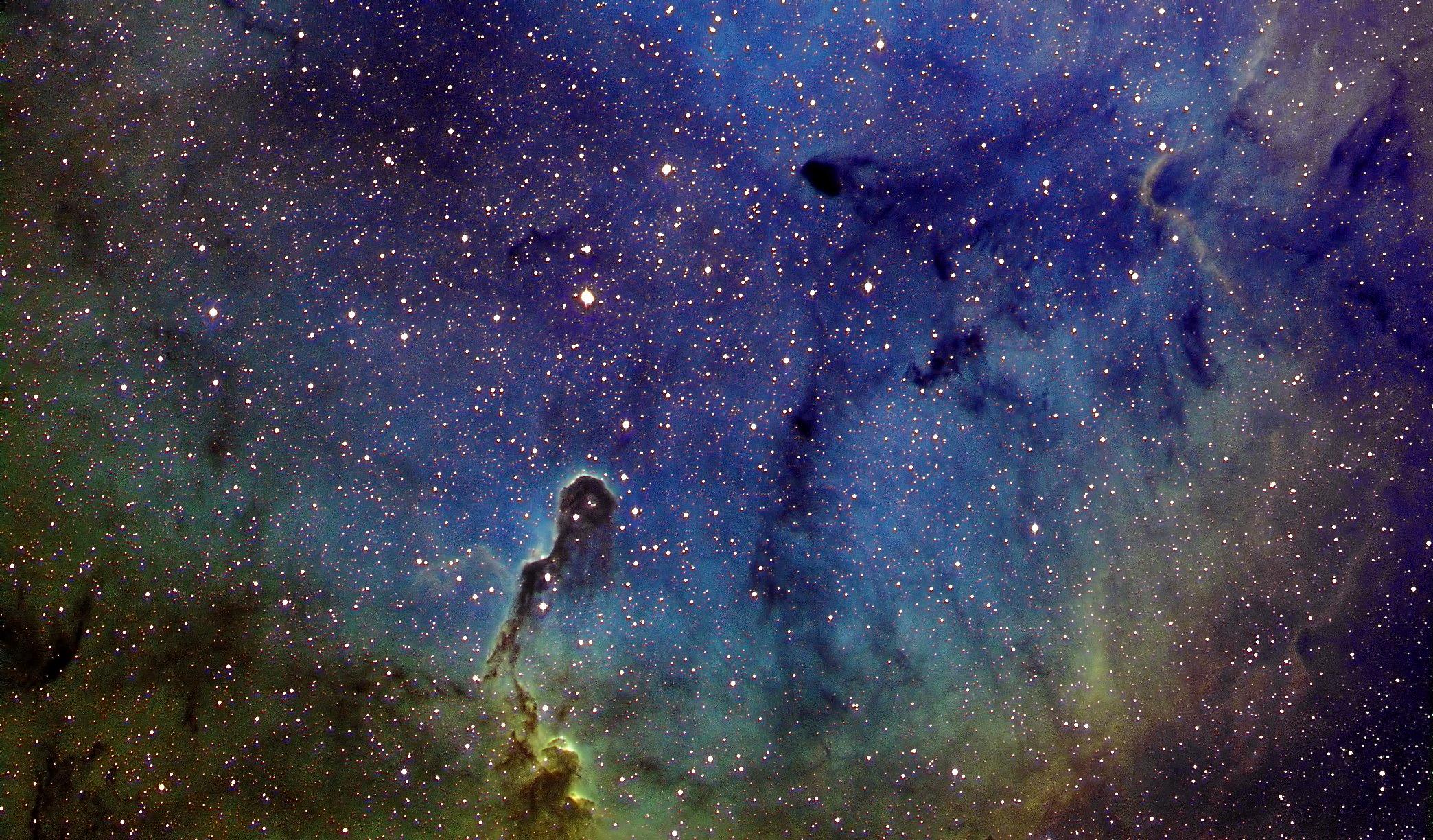 {Hubby's image of The Elephant Trunk Nebula}