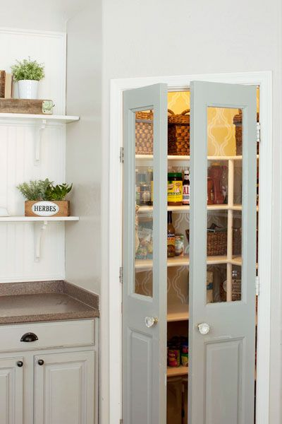 Pantry Doors Interior Doors: From Drab to Dramatic!
