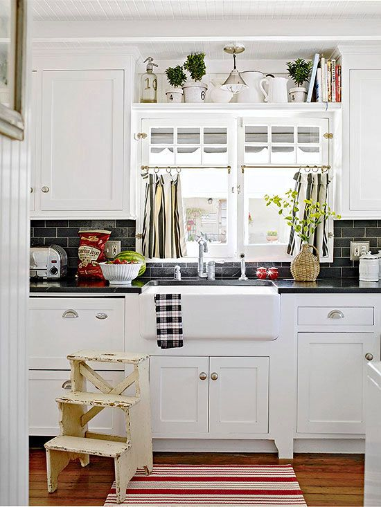 8 Ways to Dress Up the Kitchen Window {without using a curtain ... Kitchen Wall Ideas With Windows on curtains with windows, bathrooms with windows, kitchen window toppers, kitchen ideas lighting, kitchen remodel with windows, country kitchen windows, diy with windows, kitchens designs with no windows, kitchen islands with windows, decorating with windows, small kitchen with windows, traditional kitchens with windows, kitchen layouts with windows, kitchen sink window ideas, kitchen floor plans with windows, dream kitchens with windows, home with windows, kitchen ideas cabinets, garden for kitchen windows, kitchens with lots of windows,