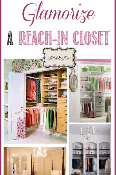 How to Glamorize a Reach-In Closet