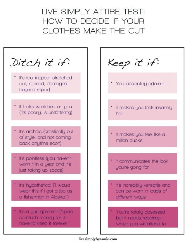 Tips for Closet Cleaning