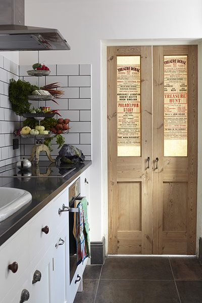 Vintage Utility Door Interior Doors: From Drab to Dramatic!