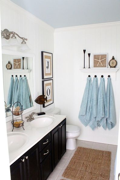 Just a Girl 20 Amazing Guest Bath Decor Ideas