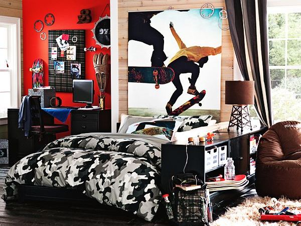 Bedrooms For Teenage Boys