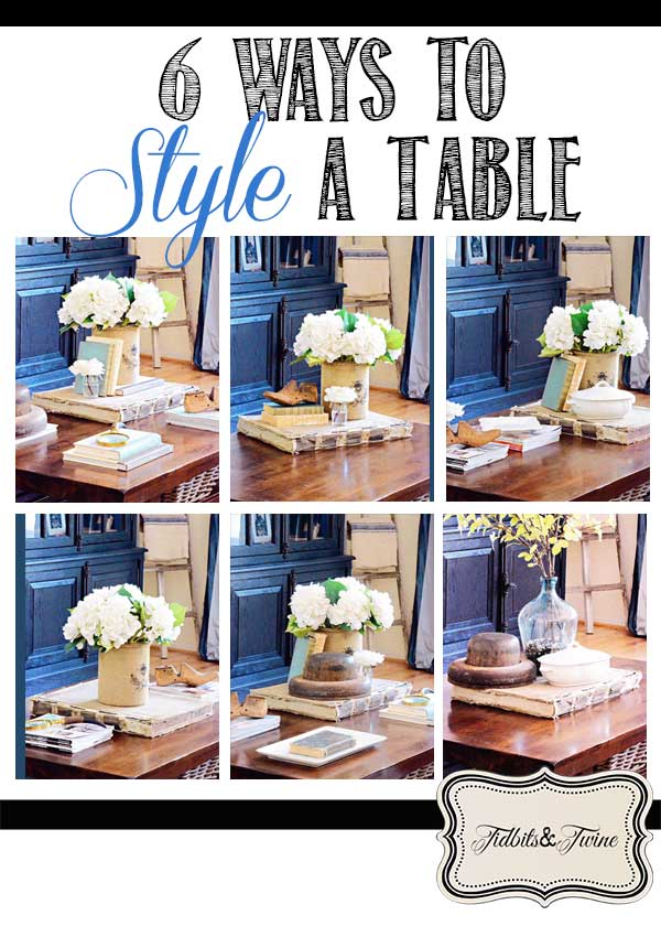 6 Ways to Style A Coffee Table – You Vote!