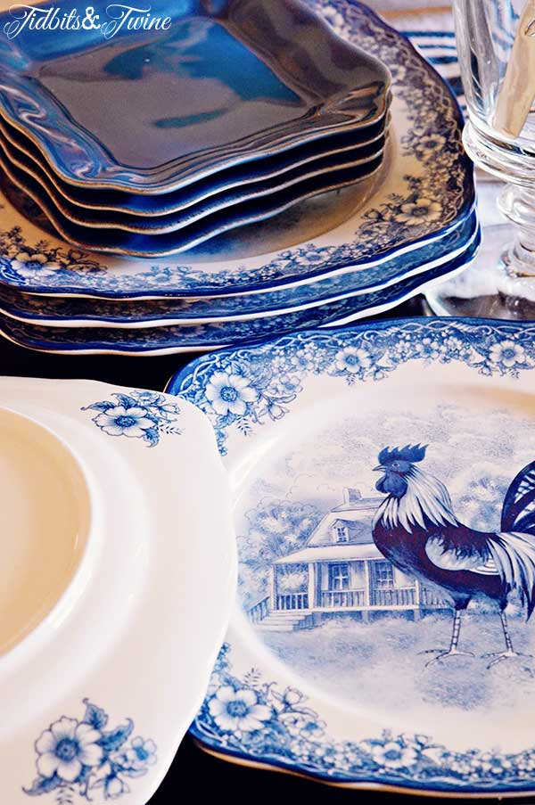 TIDBITS TWINE Chicken Plate Backs Shopping for Vintage Cameras, Ironstone & More