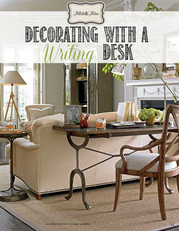 TIDBITS-&-TWINE---Decorating-with-a-Writing-Desk