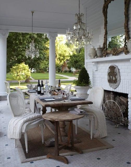 Annie Brahler Outdoor Seating