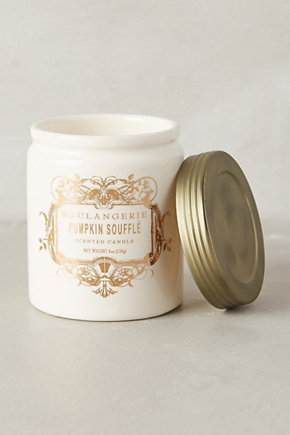 {I am currently obsessed with my Anthropologie candle and recently discovered their French dessert line of candles}