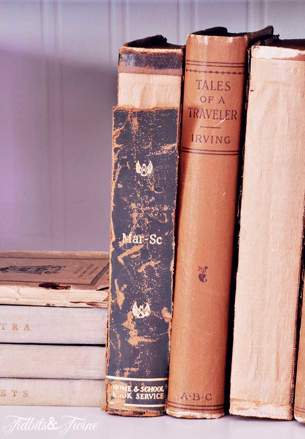 TIDBITS-&-TWINE-Cabinet-with-Old-Books