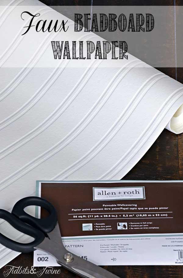 TIDBITS-&-TWINE-DIY-Faux-Beadboard-Wallpaper
