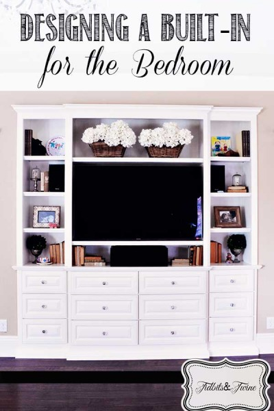 Designing a Built-In TV Cabinet