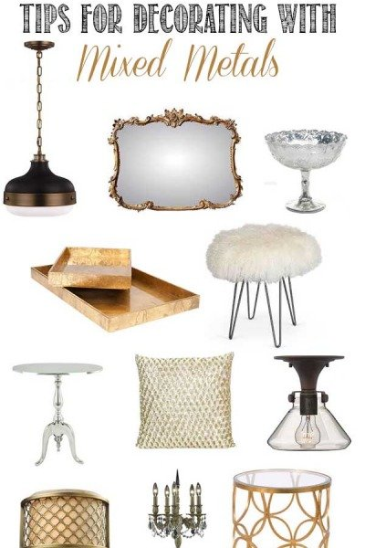 Mix It Up: Metal Finishes