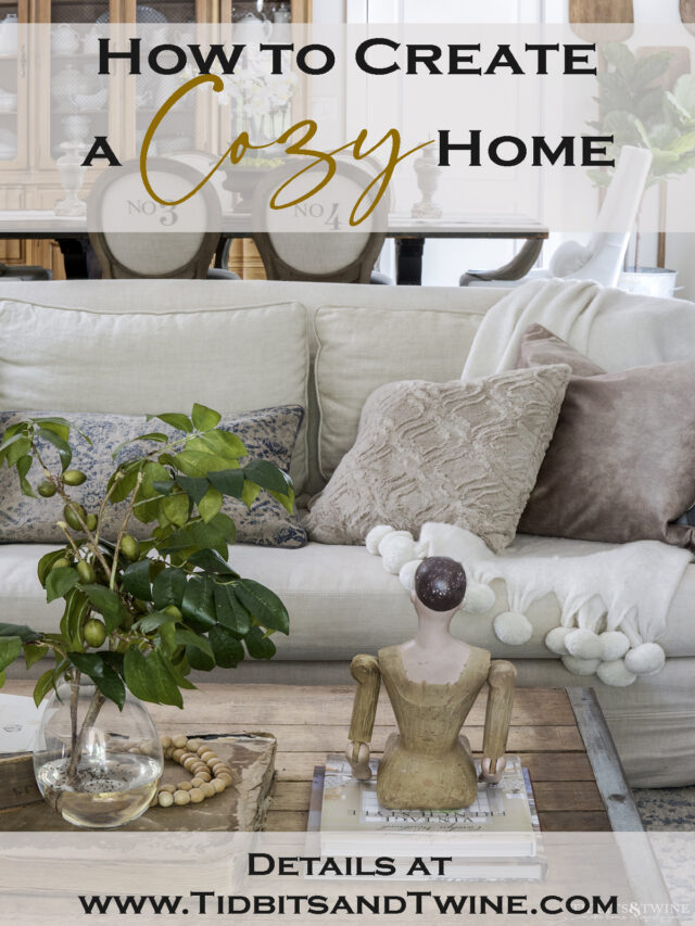 8 Tips for a Cozy Home – Tidbits&Twine