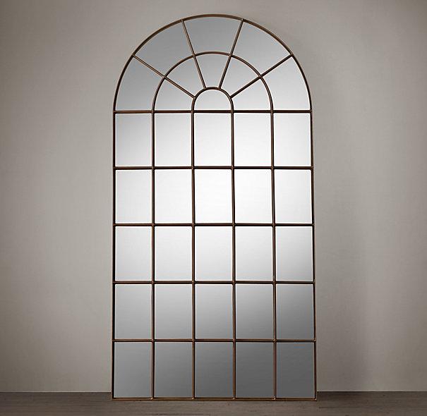 {RH Palladian Mirror}
