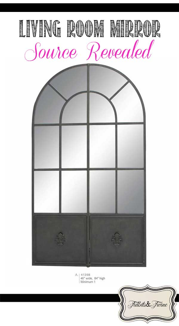 Living Room Arched Mirror – Source Revealed!