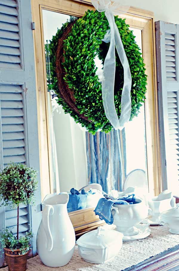 Large Boxwood Wreath