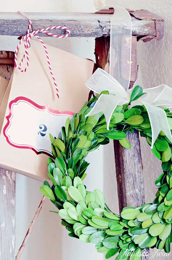 TIDBITS-&-TWINE-Advent-Calendar-and-Boxwood-Wreath