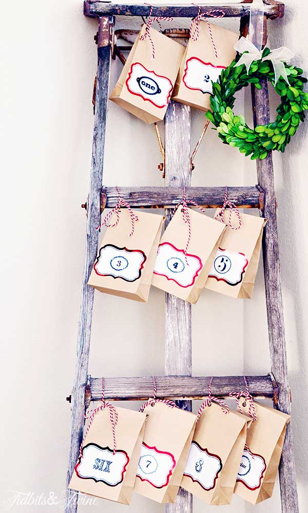 TIDBITS-&-TWINE-Ladder-Advent-Calendar-3