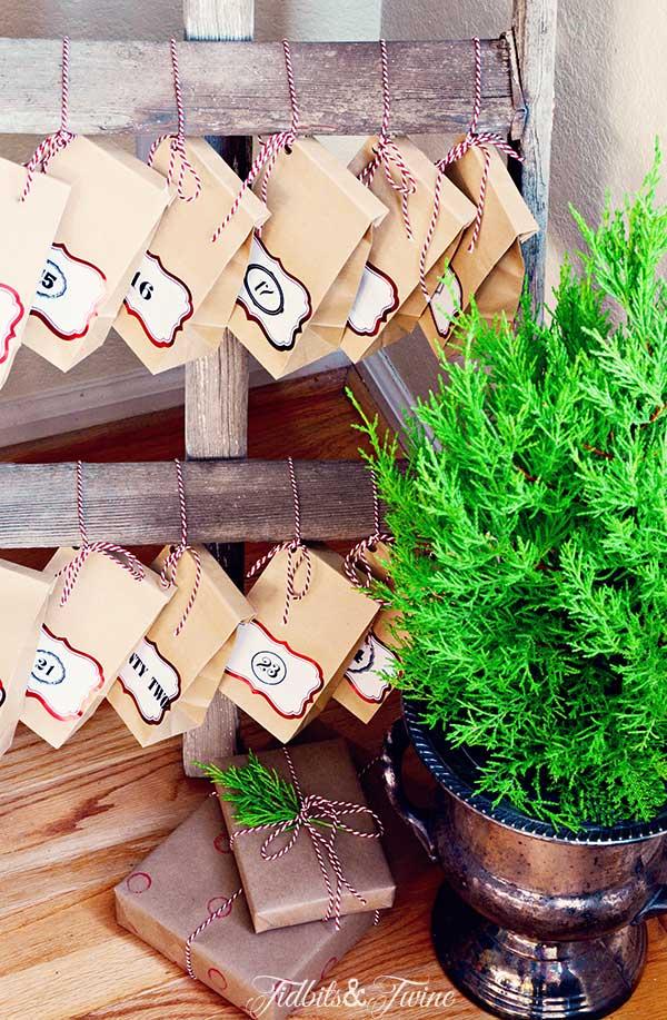 TIDBITS-&-TWINE-Ladder-Advent-Calendar-Cyprus