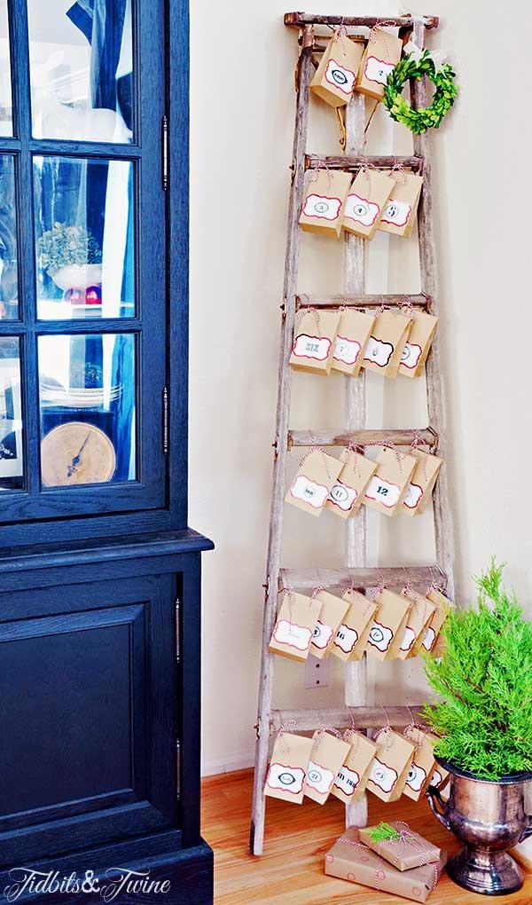 TIDBITS-&-TWINE-Ladder-Bag-Advent-Calendar-5
