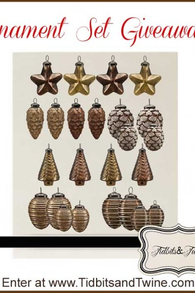 My Gift to You – An Ornament Set Giveaway!