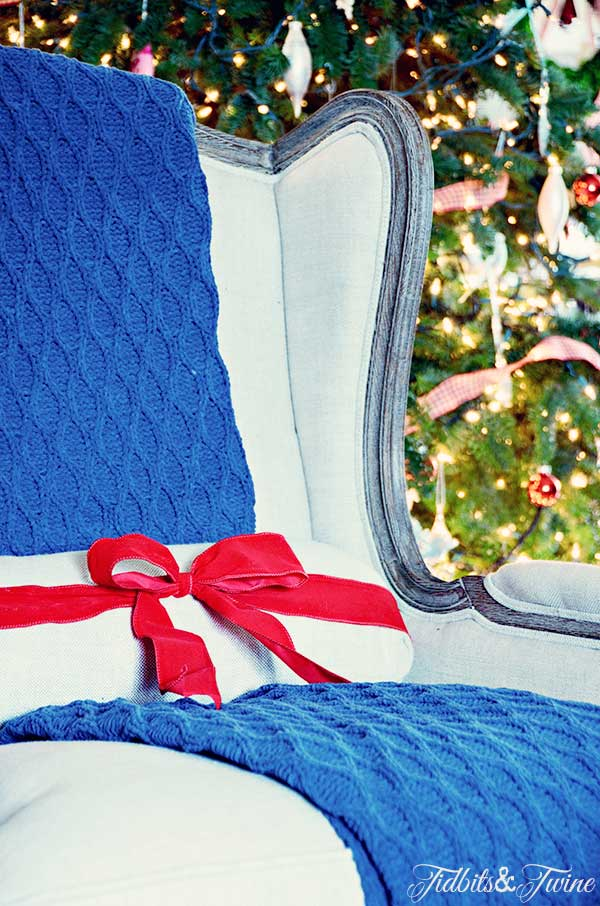 TIDBITS-&-TWINE-Ribbon-Wrapped-Pillow