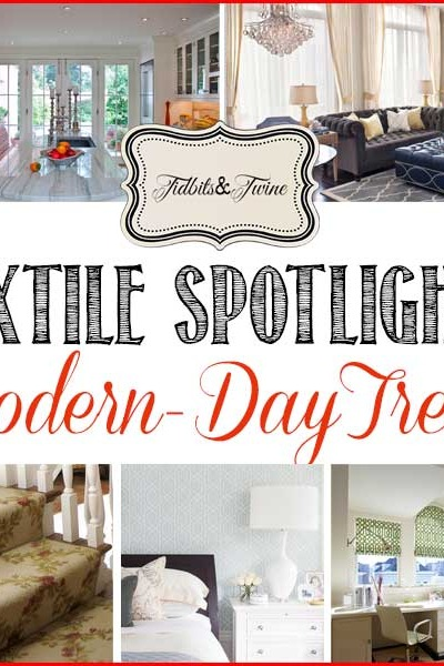 Textile Spotlight: The Modern-Day Trellis Pattern