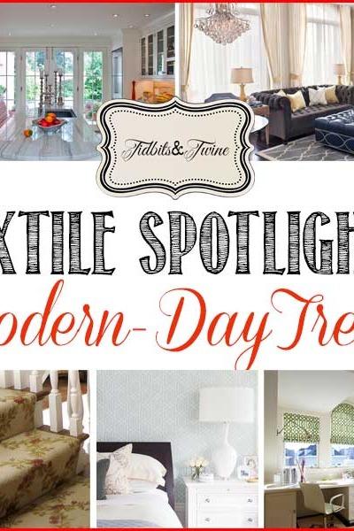 Textile Spotlight: The Modern-Day Trellis Pattern