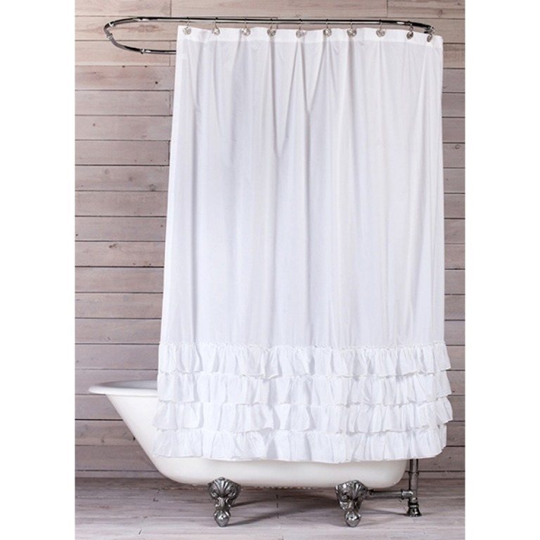 Bathroom Remodel: Week 2 Progress & A Shower Curtain Dilemma