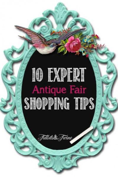 10 Expert Antique Fair Shopping Tips