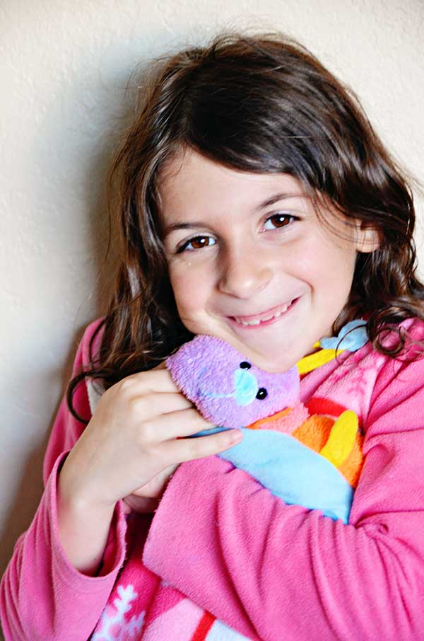 How to Make a Stuffed Toy {from Your Child's Drawing}