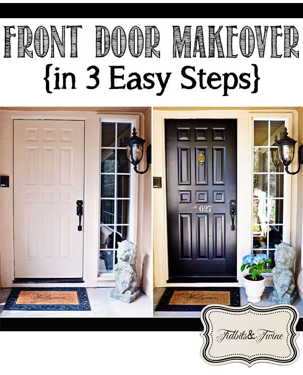 TIDBITS U0026 TWINEu2014Front Door Makeover Reveal 2