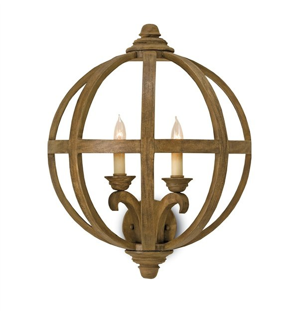 Currey and Co Axel Wall Sconce