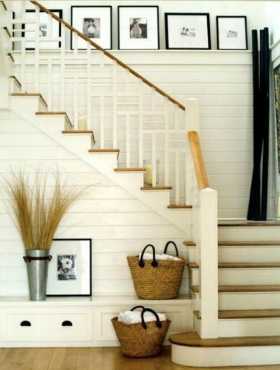 Planked Staircase Via Jaon Donnelly Photography