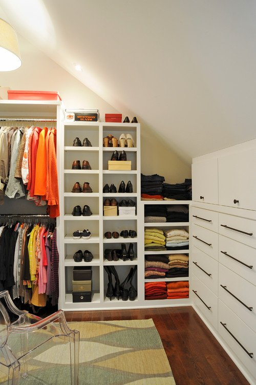 Sloped Ceiling Walk In Closet