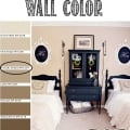 Tidbits&Twine Guest Bedroom Wall Paint Color