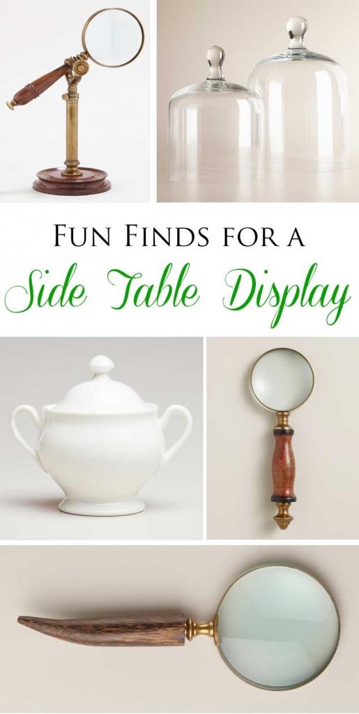 TIDBITS&TWINE Side Table Vignette Accessories