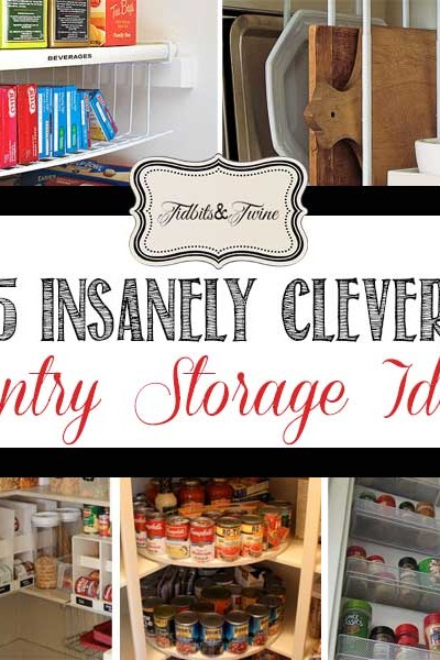 5 Clever {Real-Life} Pantry Storage Ideas