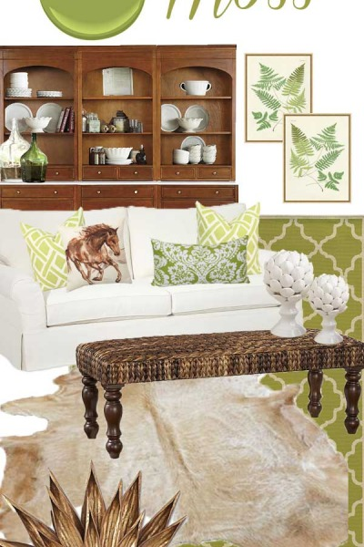 Color Inspiration: Wicker & Moss